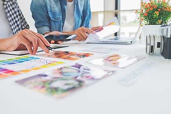 création et brainstorm du branding d'une entreprise