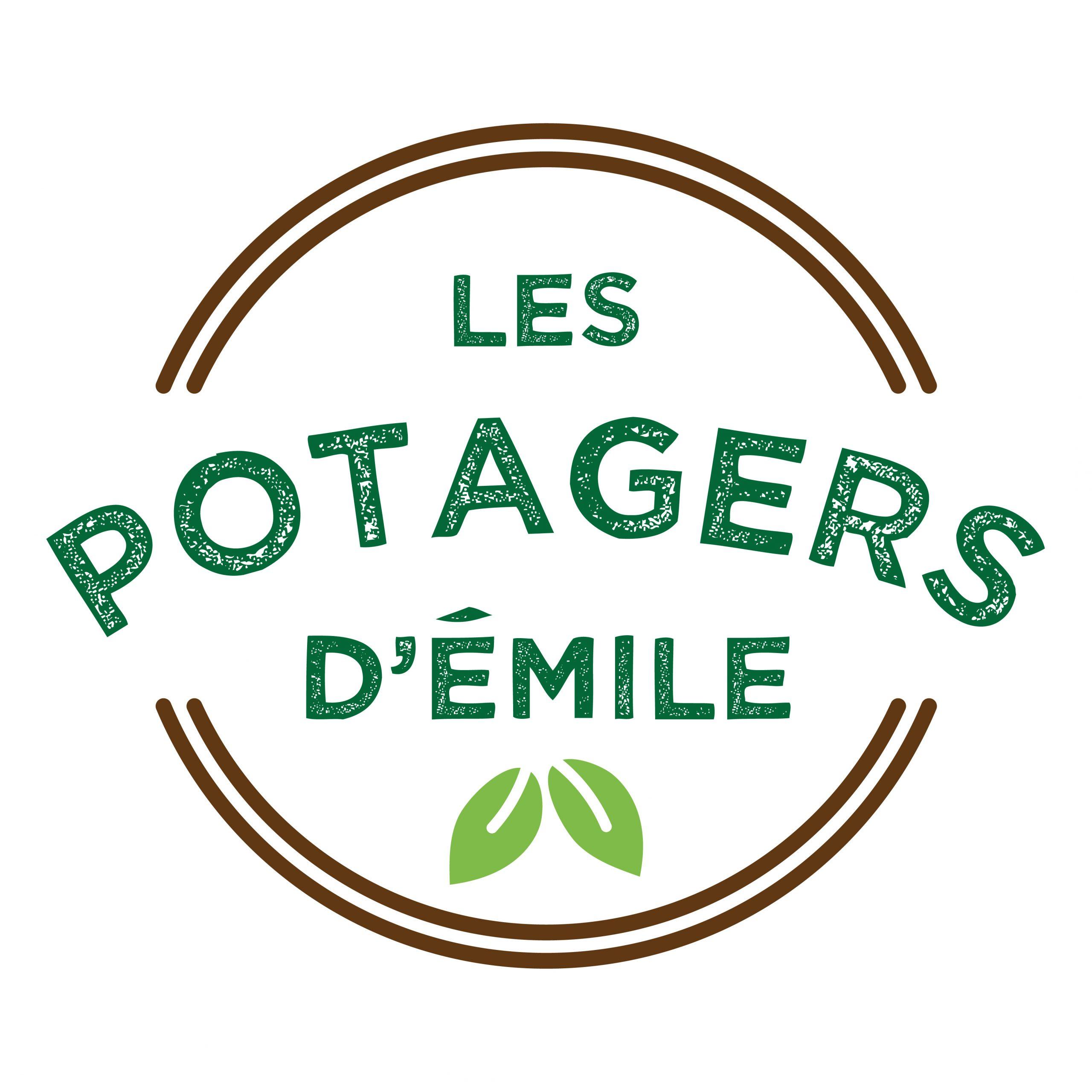 création de logo les potagers d'Émile