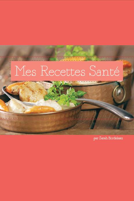 conception d'un livre de recettes