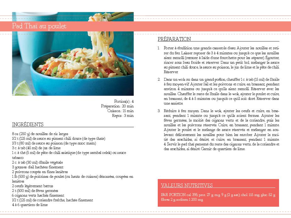 Montage d'un livre de recettes (projet personnel)