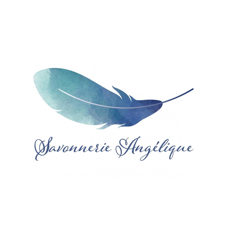 Création de logo pour la Savonnerie Angélique