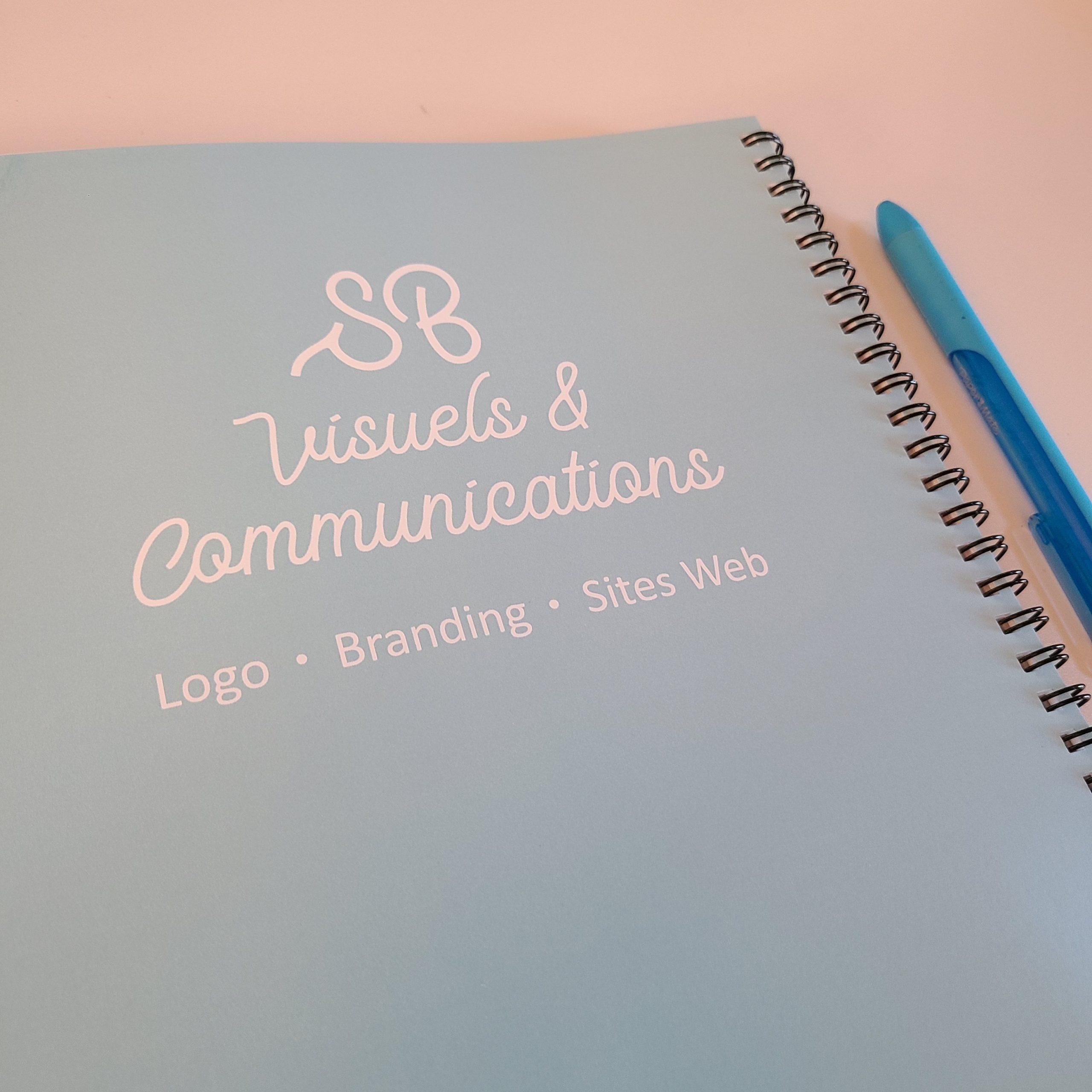 logo branding identité visuelle palette de couleurs